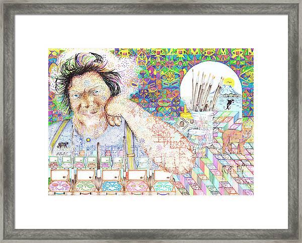 Maestro- Alfredo Arreguin Framed Print