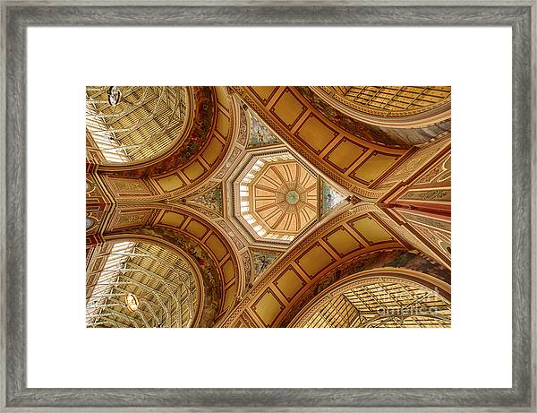 Magestic Architecture II Framed Print