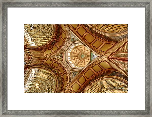 Magestic Architecture Framed Print