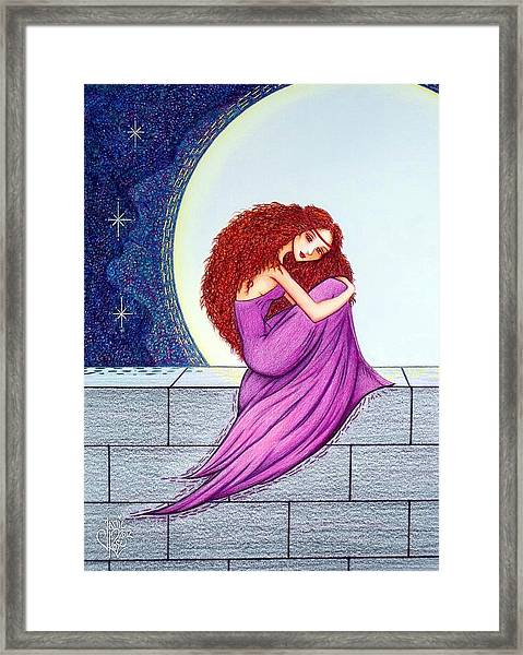 Maggie's Lullaby Framed Print