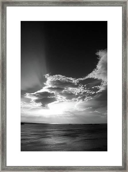 Magheracross Sunset Framed Print