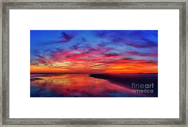Framed Print featuring the photograph Magic Hour by DJA Images