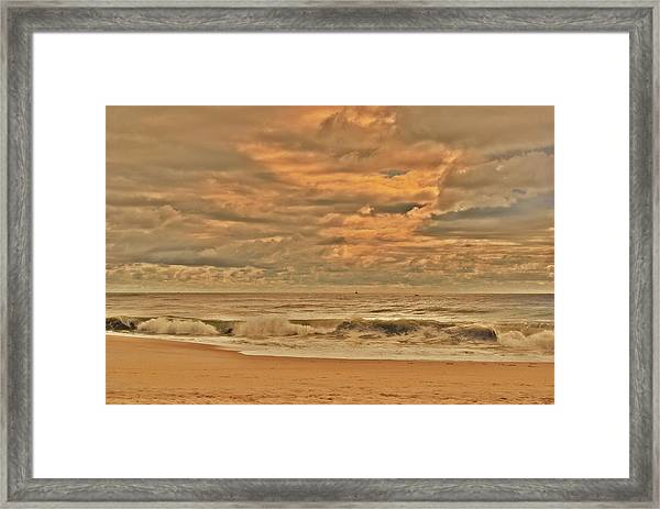 Magic In The Air - Jersey Shore Framed Print