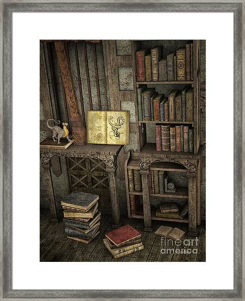 Magic Literature Framed Print