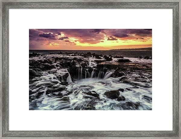 Magic Of Kauai Framed Print