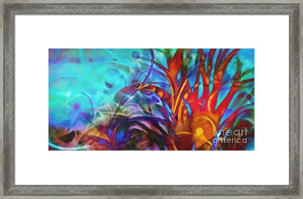 Magic World Framed Print