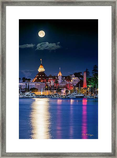 Magical Del Framed Print