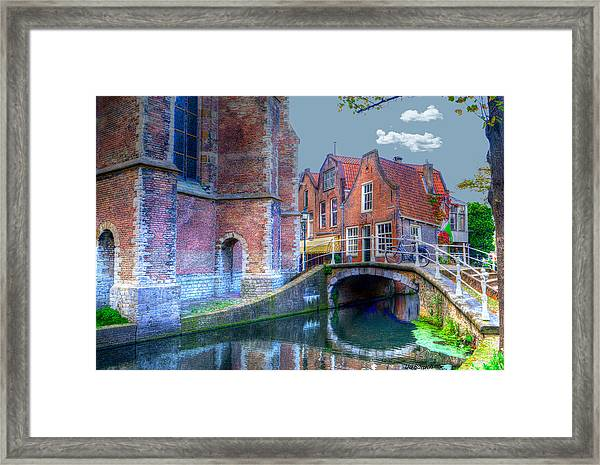 Magical Delft Framed Print