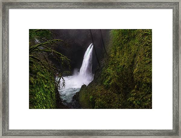 Magical Falls Framed Print