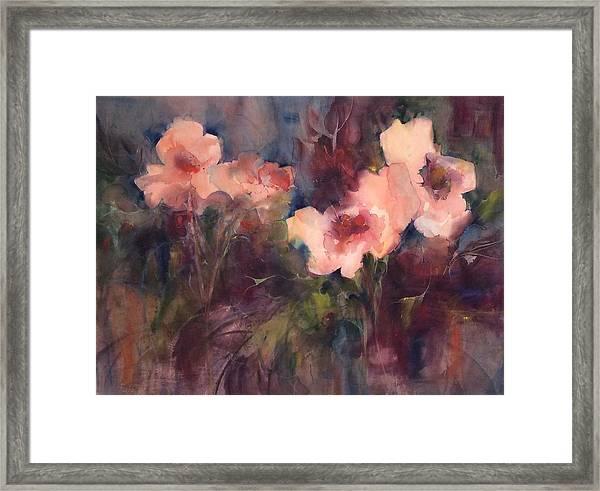 Magical Garden Framed Print