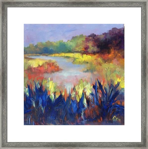 Magical Marsh Framed Print