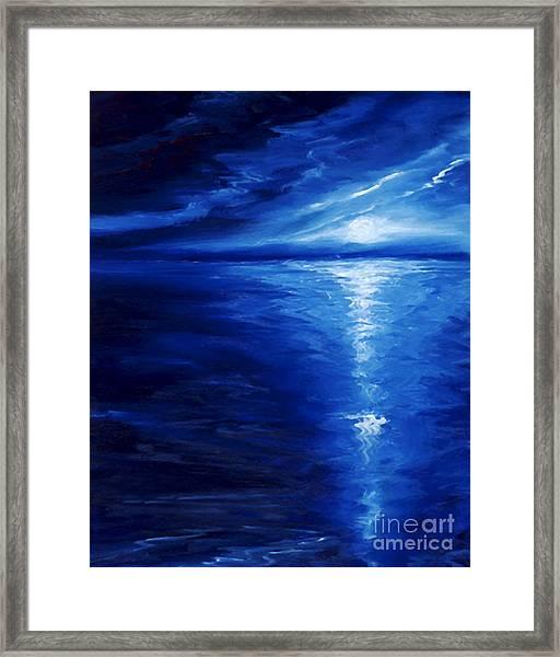 Magical Moonlight Framed Print