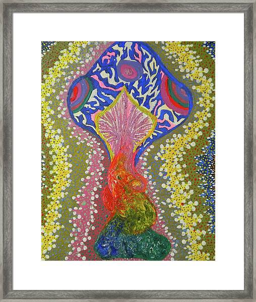 Magical Mushroom Framed Print