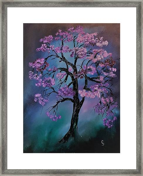 Magical Tree                  66 Framed Print