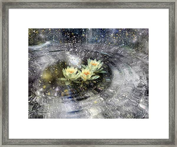 Magick Ripples Framed Print