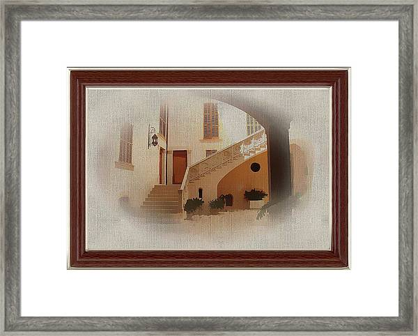 Magnificent Mexican Hacienda Framed Print