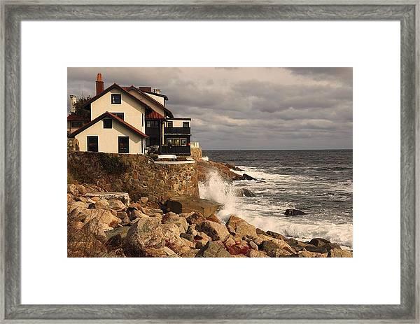 Magnolia Beach Framed Print
