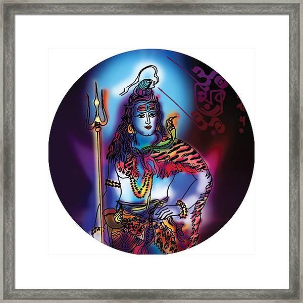Maheshvara Shiva Framed Print