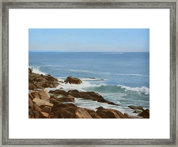 Maine Coast Framed Print