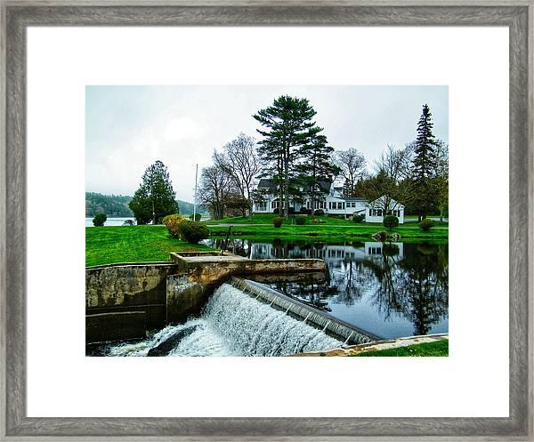 Maine House  Framed Print