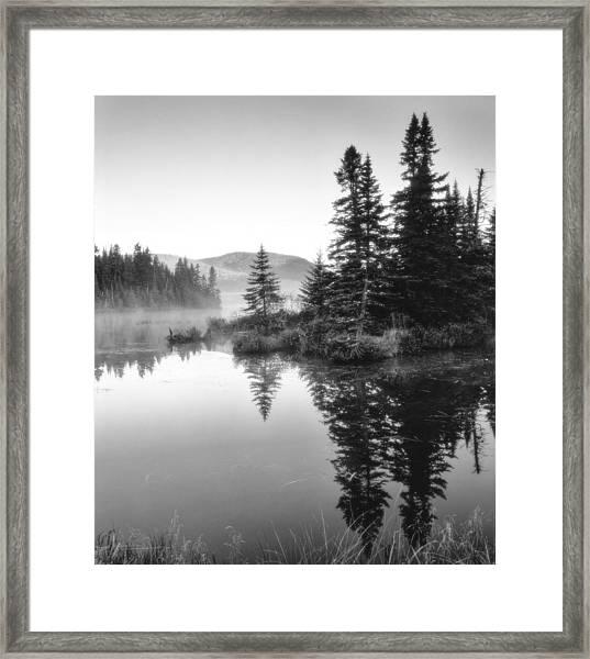 Maine Solitude Framed Print