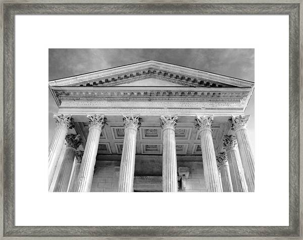 Maison Caree Framed Print