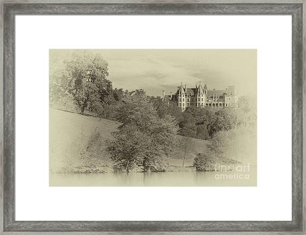 Majestic Biltmore Estate Framed Print