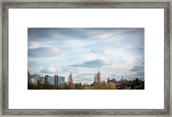 Majestic Cloud 2 Framed Print