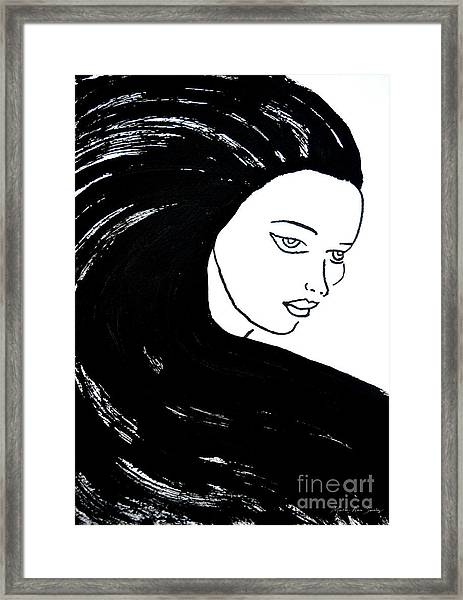Majestic Lady J0715a Framed Print