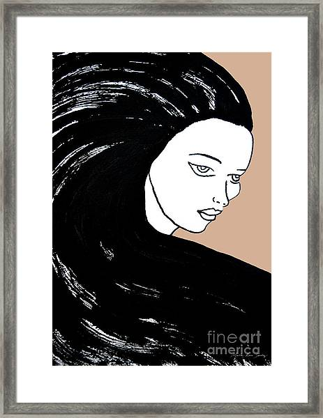 Majestic Lady J0715b Framed Print