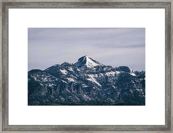 Framed Print featuring the photograph Majestic Morning On Pagosa Peak by Jason Coward