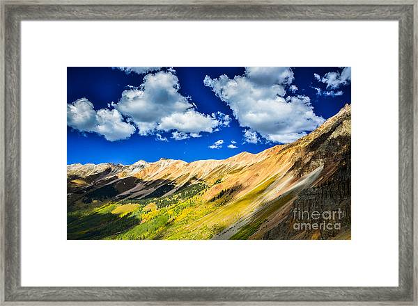 Majestic San Juan Mountains  Framed Print by Scott and Amanda Anderson