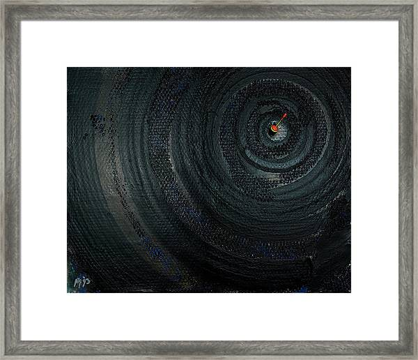 Make A Good Catch - Ecological Disaster  - Drilling Permit - Offshore - Energy - Crude - Petri Heil Framed Print