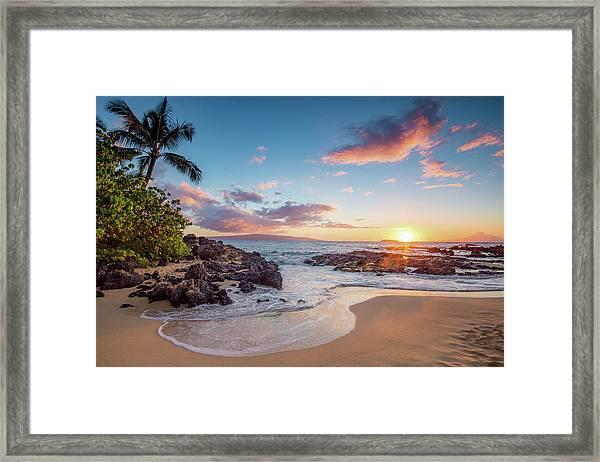 Makena Cove Framed Print