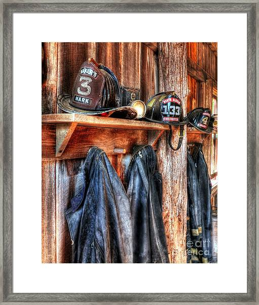 Framed Print featuring the photograph Maker's Mark Firehouse by Mel Steinhauer