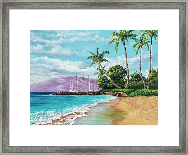 Makila Beach Framed Print