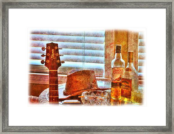Making Music 002 Framed Print