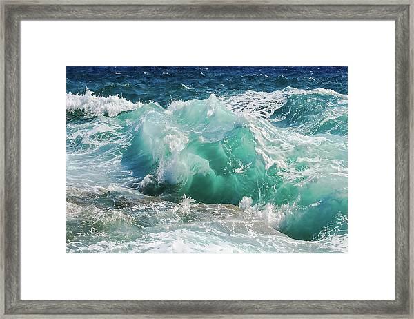 Making Waves Framed Print