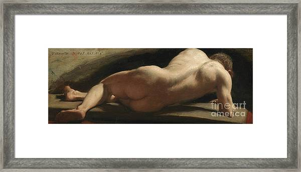 Male Nude Framed Print