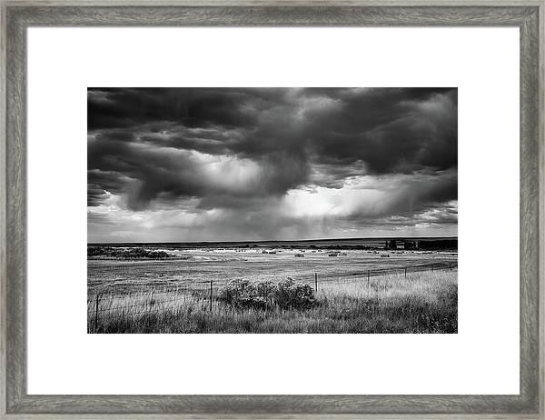 Malheur Storms Clouds Framed Print