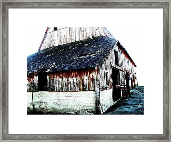 Mallard Barn Framed Print