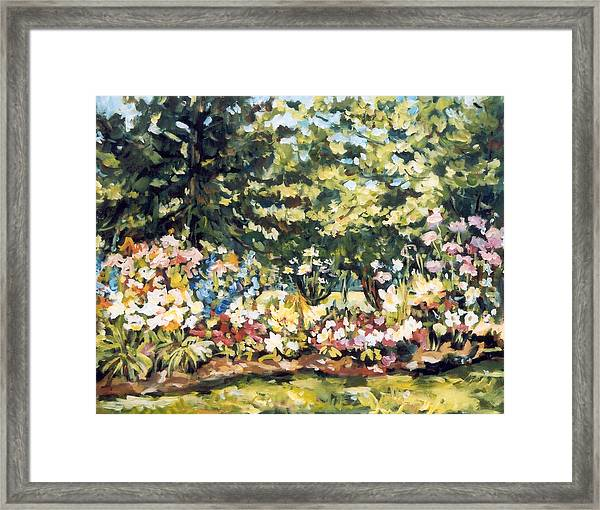 Mallquist's Garden Framed Print