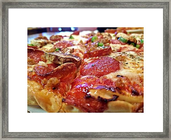 Mama Lido's Pizza Framed Print