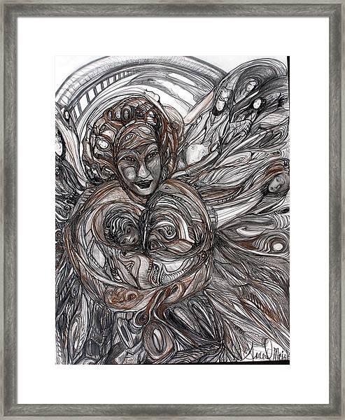 Mamie Framed Print