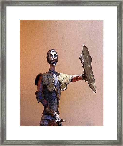 Man Of La Mancha Framed Print