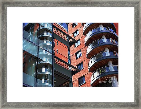 Manchester - Spinningfields  Framed Print by Hristo Hristov