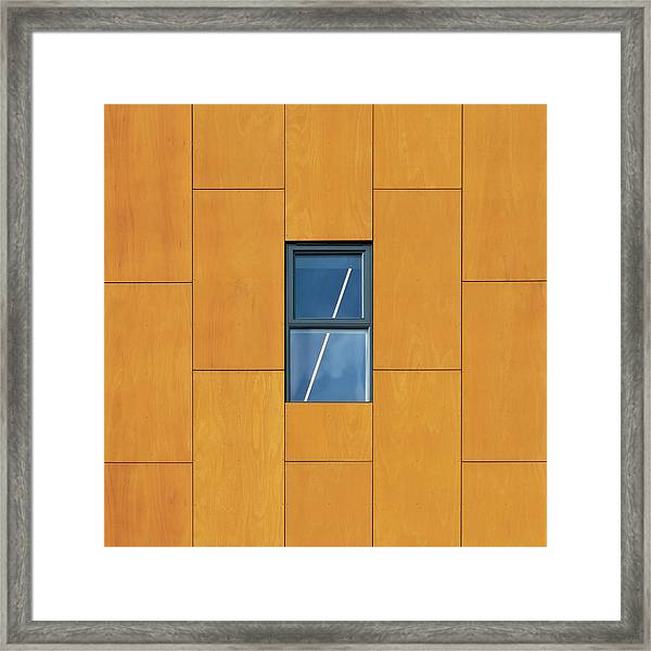 Manchester Windows 2 Framed Print