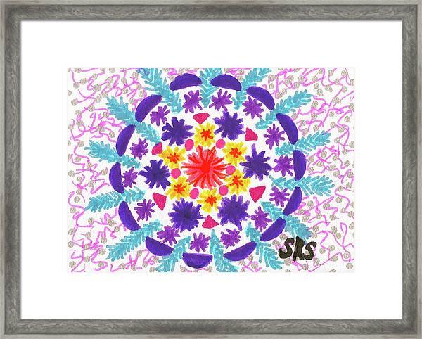 Mandala Magic Framed Print