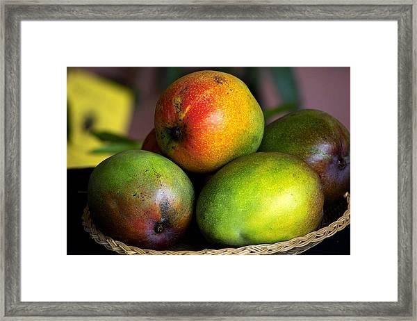Mangos Framed Print