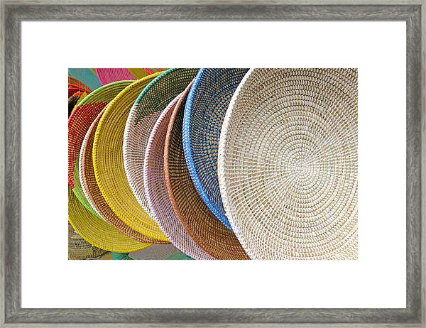 Manhattan Wicker Framed Print